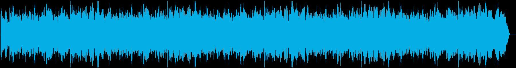 ダークで深刻な雰囲気のメロディーの再生済みの波形