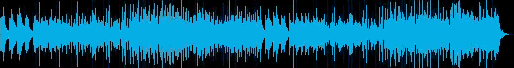 美しいピアノの響き~ファジーな印象の楽曲の再生済みの波形