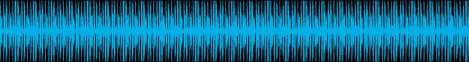 Webビデオゲームで使用できるセミ...の再生済みの波形