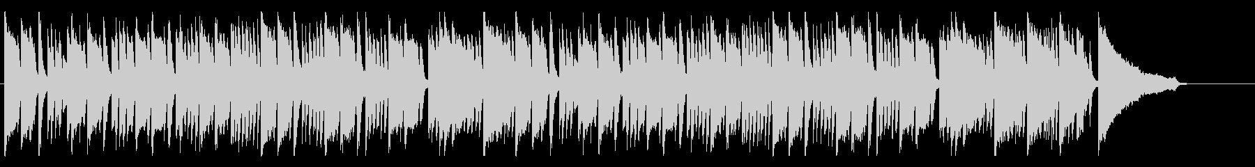 軽やかなピアノの協奏曲の未再生の波形
