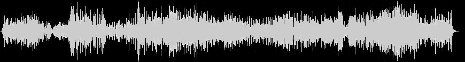 アコーディオンと弦楽器を使ったノイズ系曲の未再生の波形