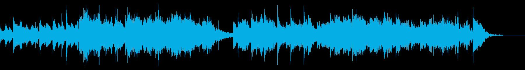流ゆく時間をイメージした曲の再生済みの波形