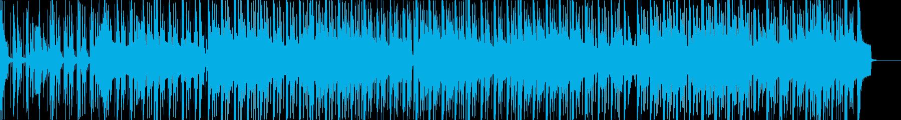 エレクトロなジムノペディの再生済みの波形