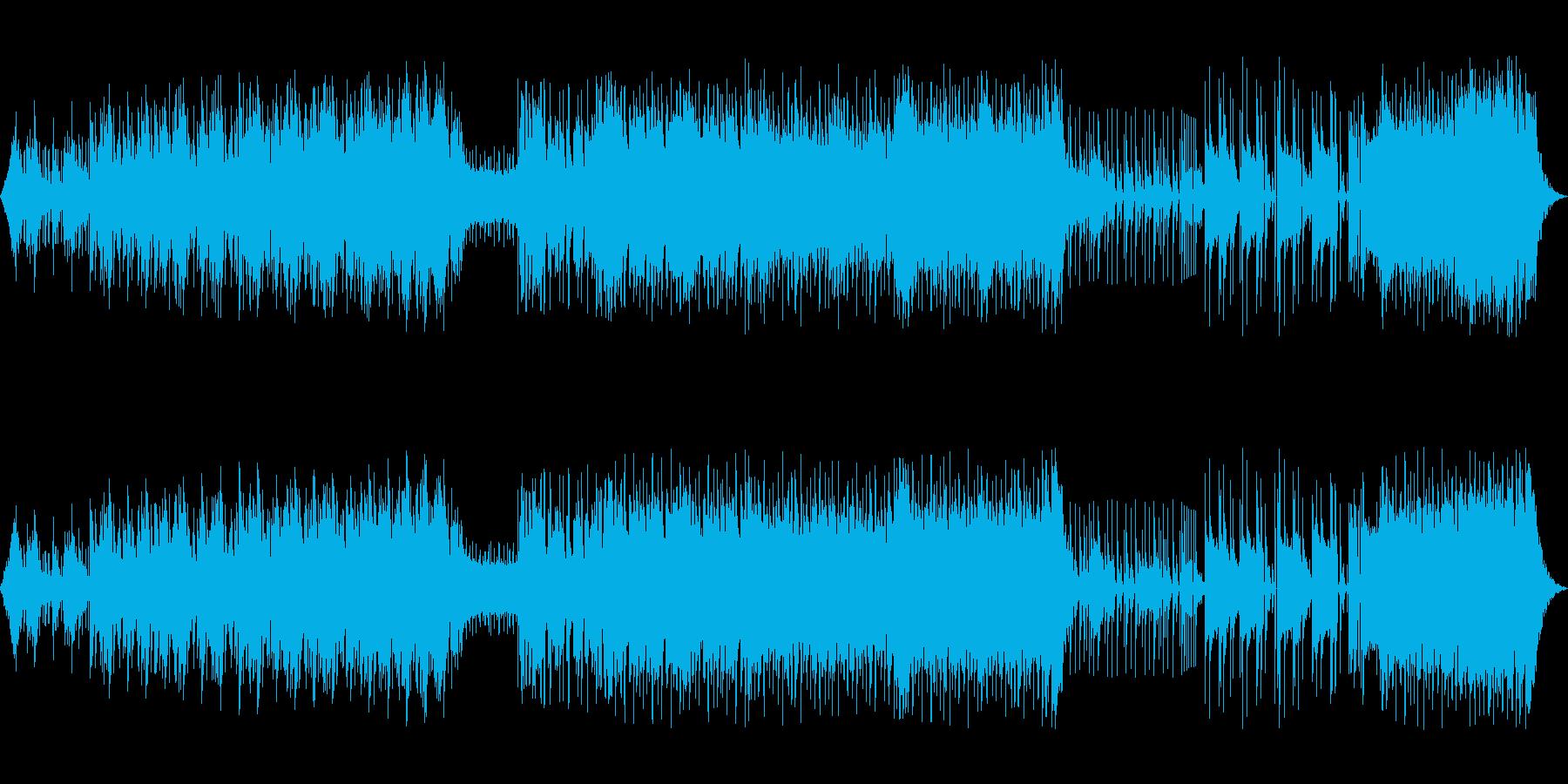 独特な緊張感のあるエレクトロニックロックの再生済みの波形
