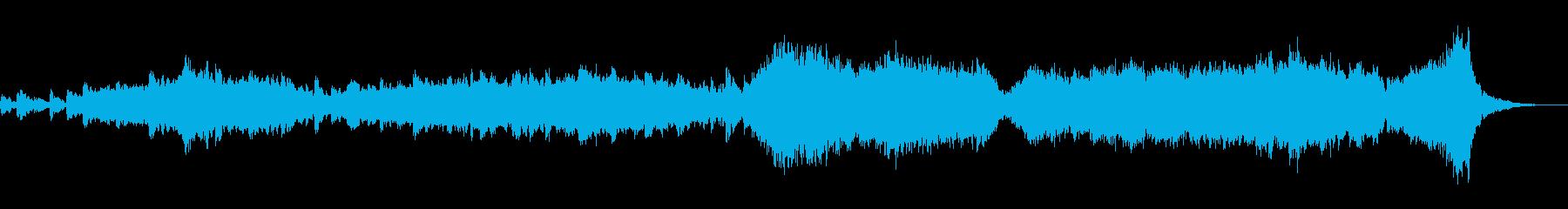 現代の交響曲 室内楽 劇的な 神経...の再生済みの波形