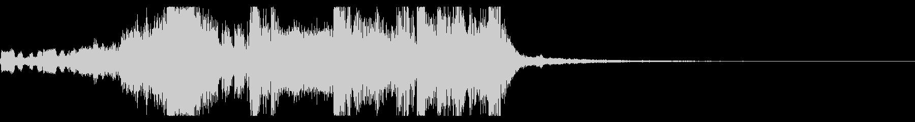 YouTube ダブステップジングル01の未再生の波形