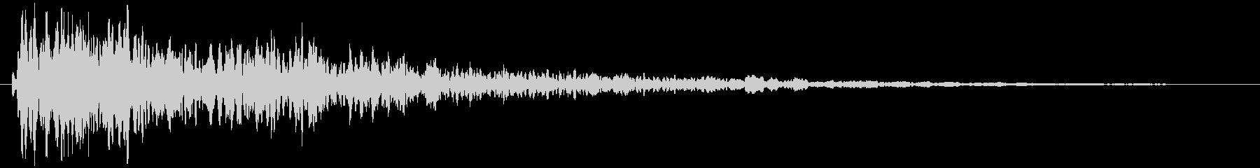こんっ!!金属音(映画・サウンドロゴ)の未再生の波形