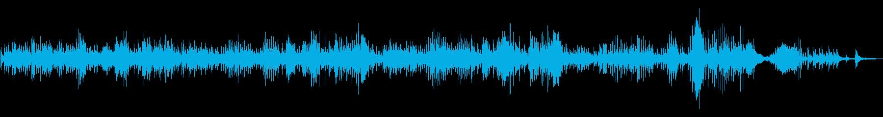 YouTubeで使いやすいクラシックの再生済みの波形