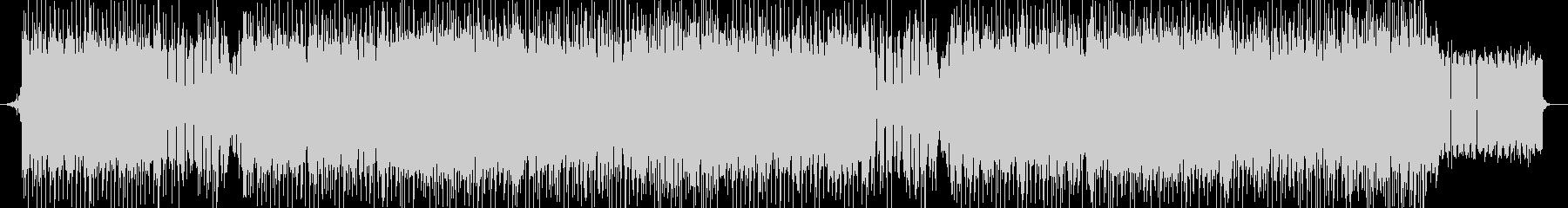 「HARDCORE/ダーク」BGM233の未再生の波形