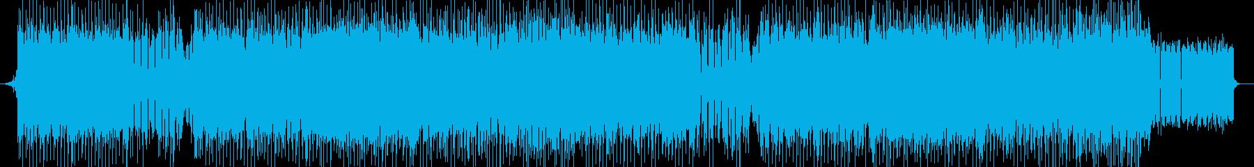 「HARDCORE/ダーク」BGM233の再生済みの波形