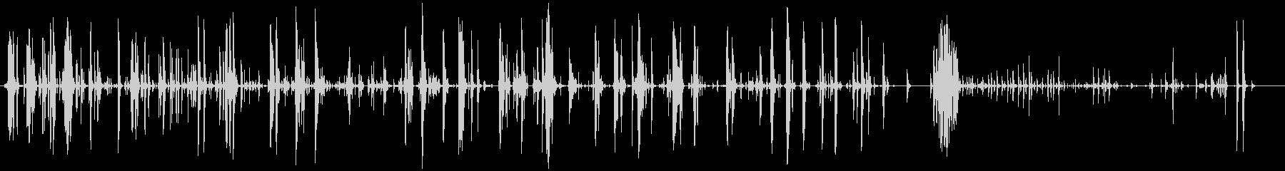 家庭 カップガラガラハード03の未再生の波形