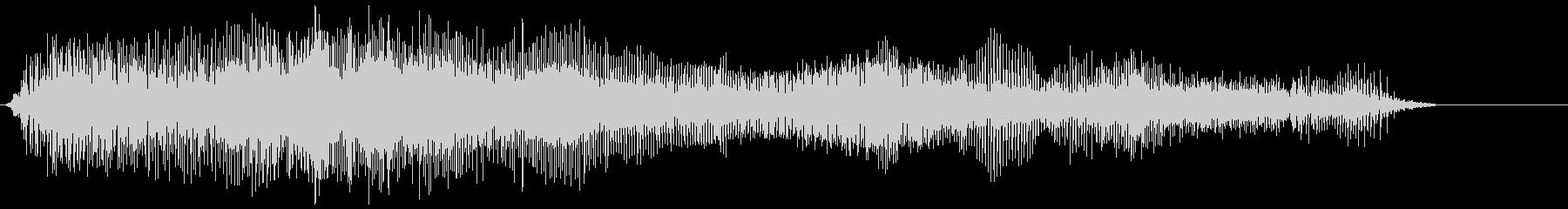 モンスターローグロール4の未再生の波形
