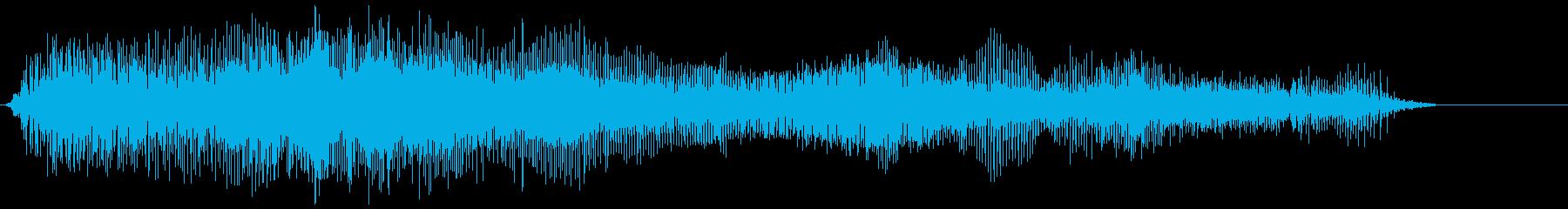 モンスターローグロール4の再生済みの波形