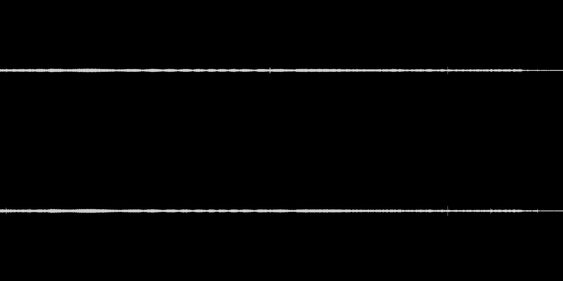 換気扇の動作音の未再生の波形