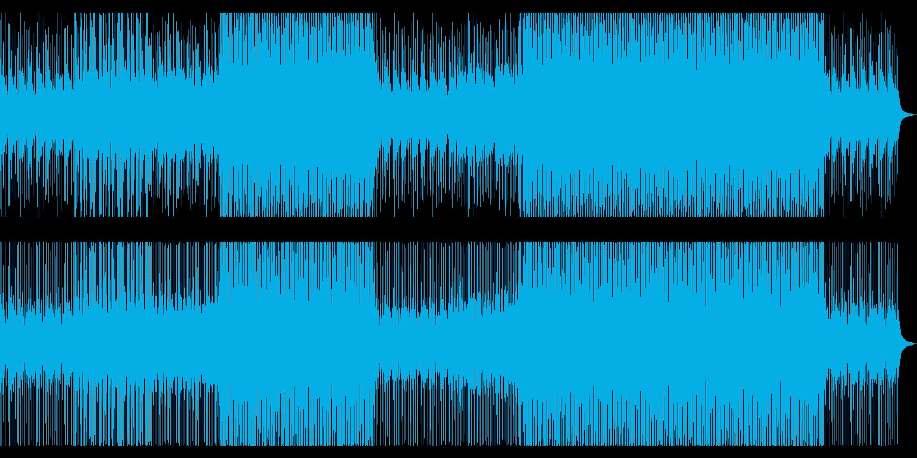 カリンバ、マリンバのさわやかポップスの再生済みの波形