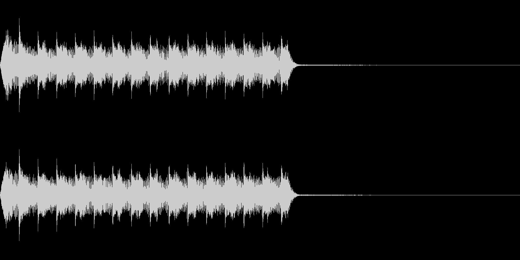 Razor レーザー小銃の連射音 1の未再生の波形