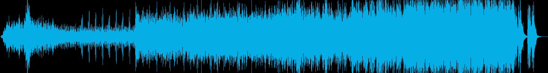 映画音楽、シネマティック映像向け-11の再生済みの波形