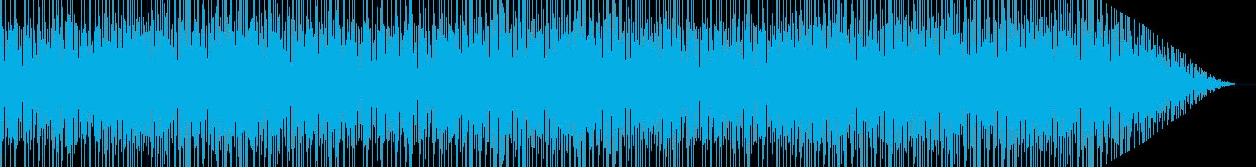 アラビアンナイトっぽいアジアン民族音楽の再生済みの波形