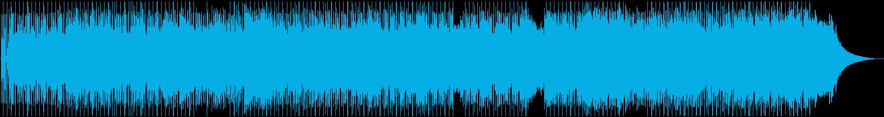 夕暮れ時の一時をイメージの再生済みの波形