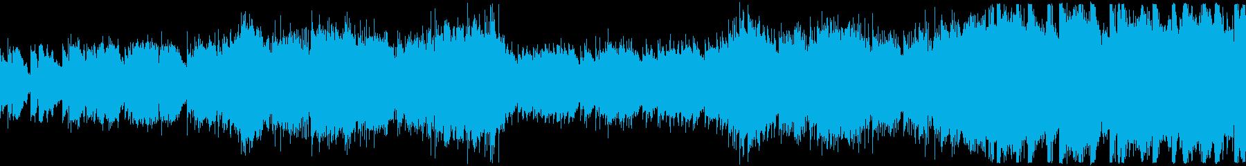 ループ・優しいフューチャーポップの再生済みの波形