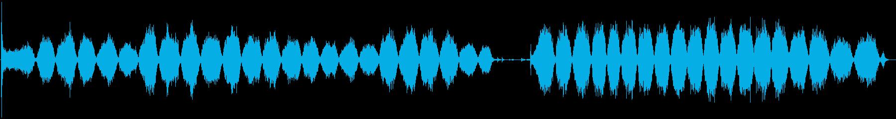 サンディングブロックを使用したハン...の再生済みの波形