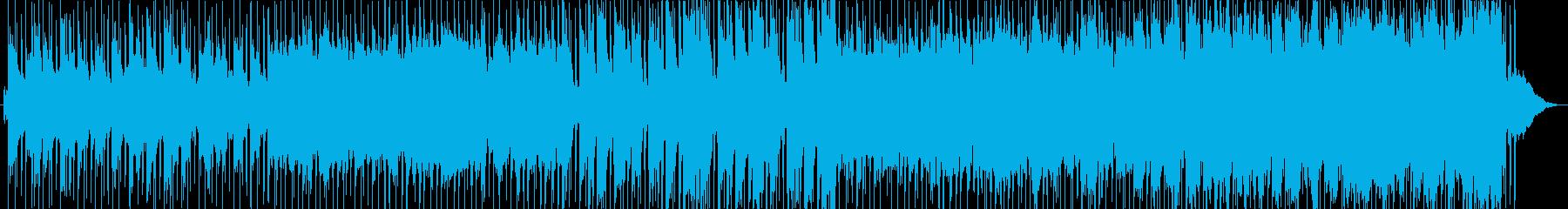 和風オーケストラの祭り囃子の再生済みの波形