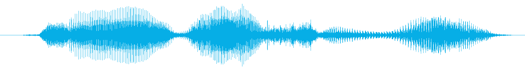 Is that okay? (woman)'s reproduced waveform
