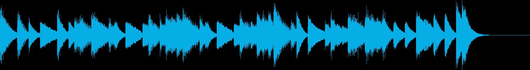 Sus4を多用した宇宙感のピアノジングルの再生済みの波形
