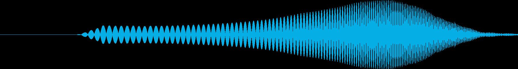 シングルウォーターバブルドロップ、...の再生済みの波形