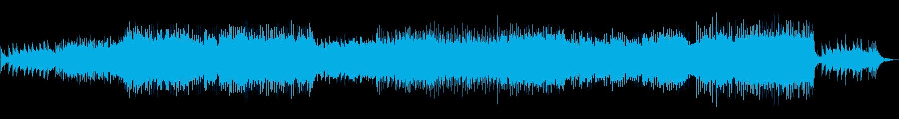 疾走感のあるケルト調ポップスの再生済みの波形
