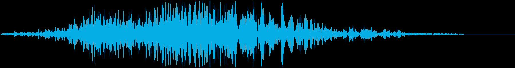 WHOOSH_07 ヒューンッドンッ・・の再生済みの波形