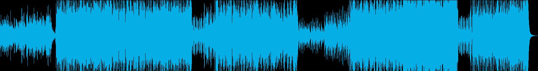 疾走感・ジャズ・軽快な高速ピアノ!!の再生済みの波形