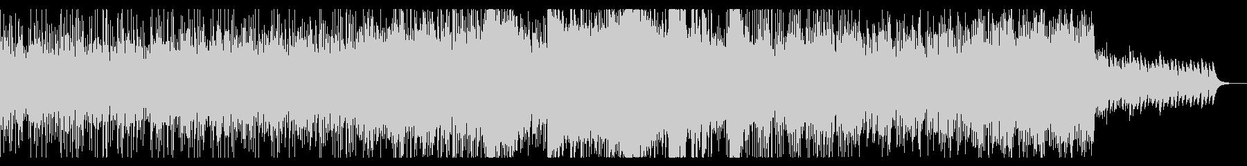 デジタルサイエンスで壮大なBGMの未再生の波形