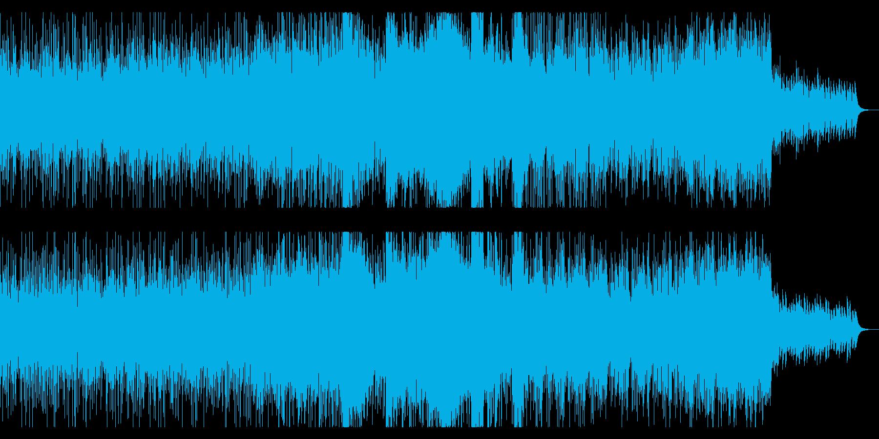 デジタルサイエンスで壮大なBGMの再生済みの波形