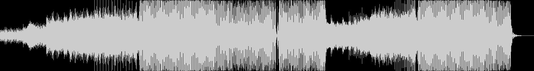 レトロフューチャーな80`sシンセポップの未再生の波形