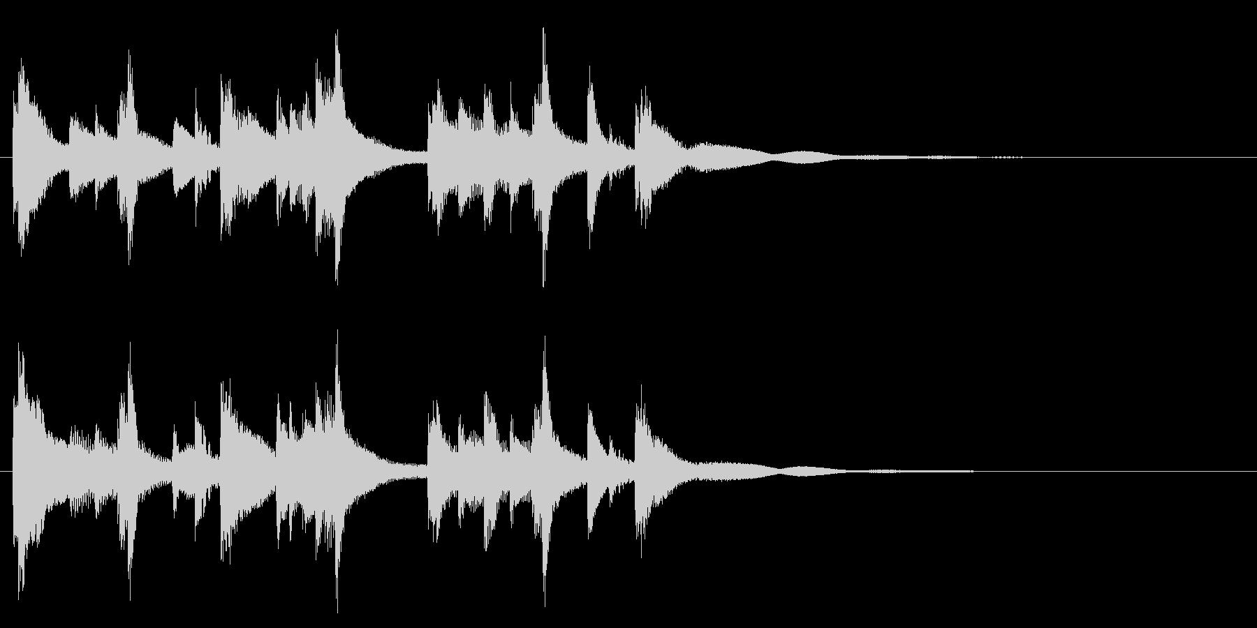 和風☆アイキャッチ1の未再生の波形