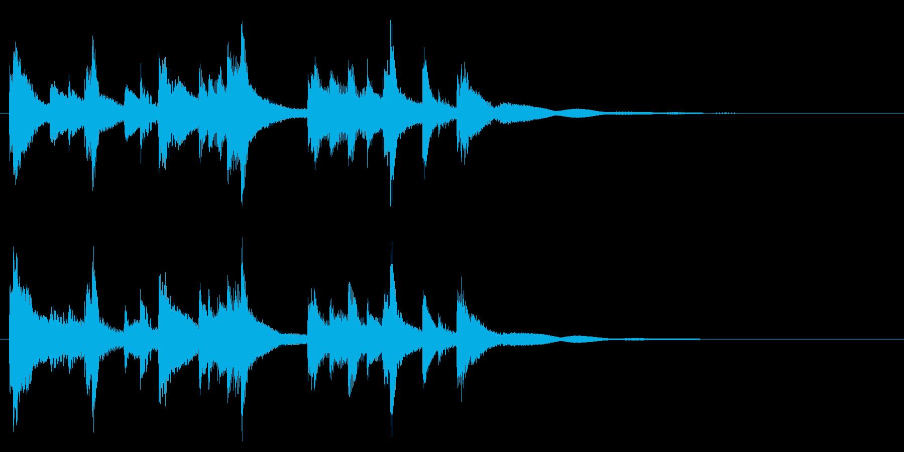 和風☆アイキャッチ1の再生済みの波形