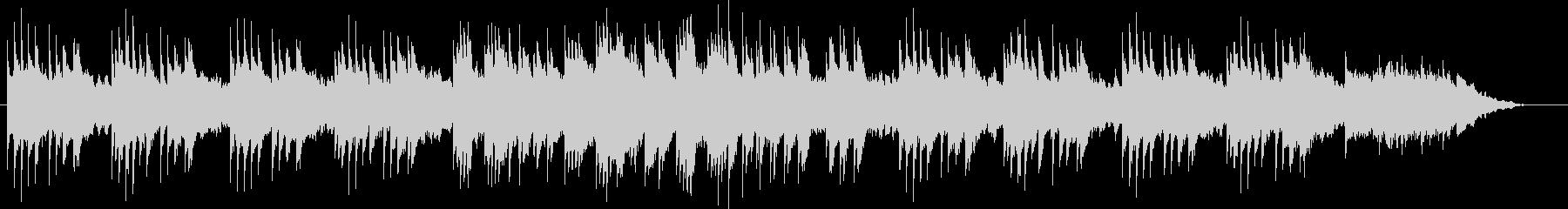 琴とピアノによる切なく幻想的なBGMの未再生の波形
