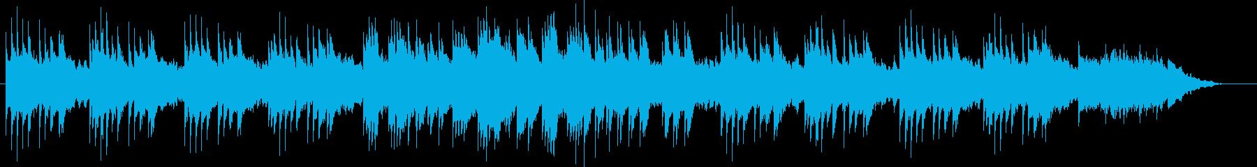 琴とピアノによる切なく幻想的なBGMの再生済みの波形