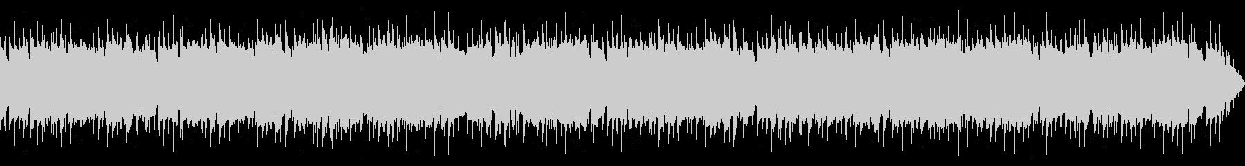エレピのメロディーが印象深い明るいBGMの未再生の波形