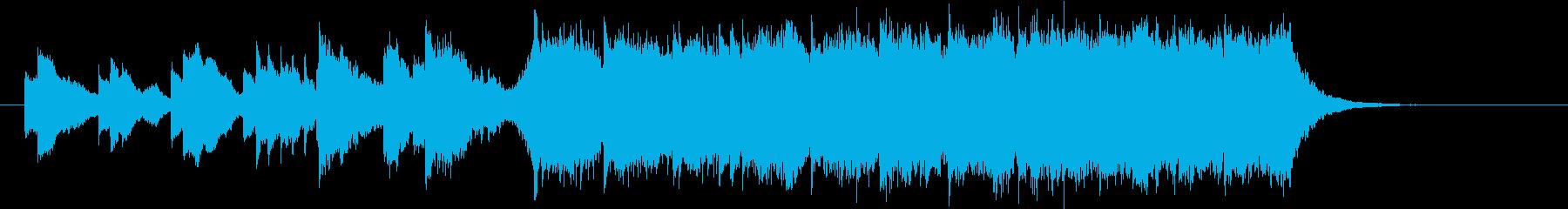 シャンプーのCMに使える爽やかで上質な曲の再生済みの波形
