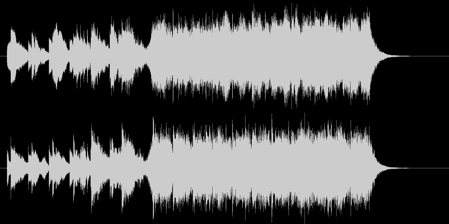 シャンプーのCMに使える爽やかで上質な曲の未再生の波形