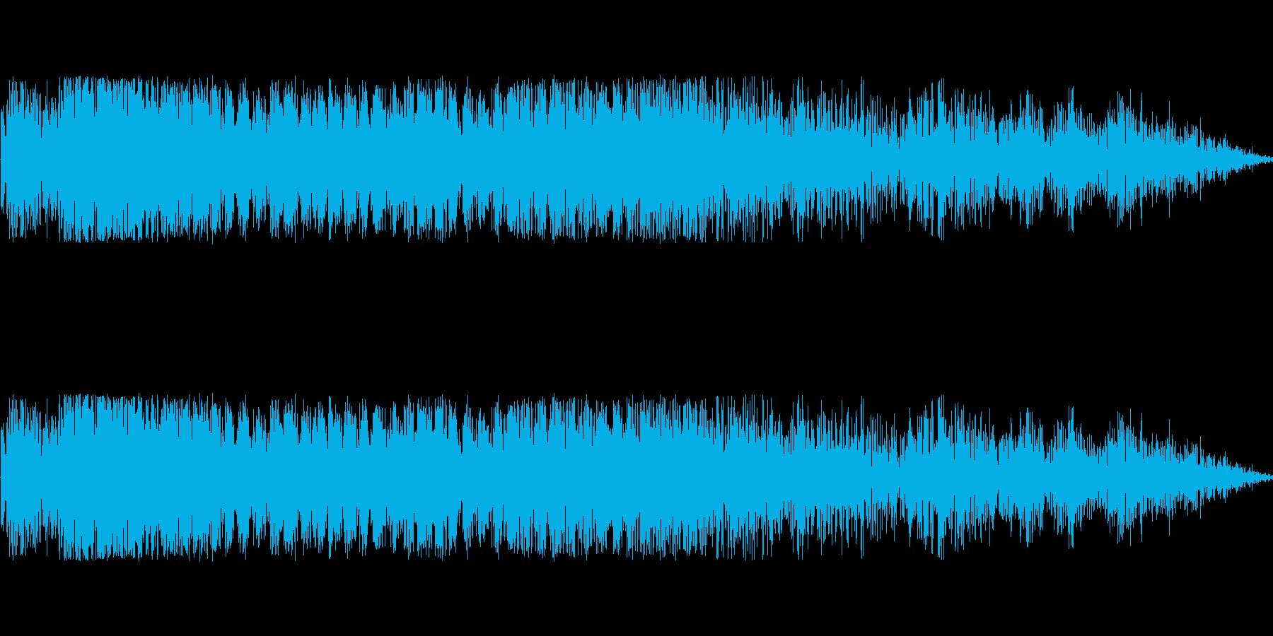 バトル(溜め・チャージ音)の再生済みの波形