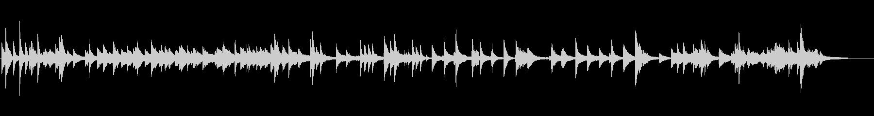 Jazzyな可愛い透明感あるピアノ曲の未再生の波形