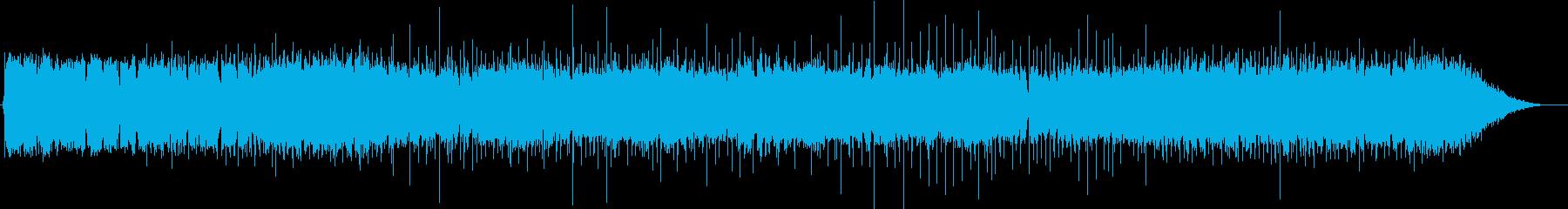 映像作品向け:有名なロック曲の代用としての再生済みの波形