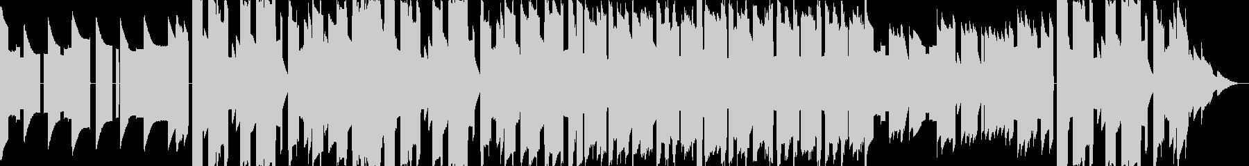 ファミコン風 悲しい雰囲気のBGMの未再生の波形