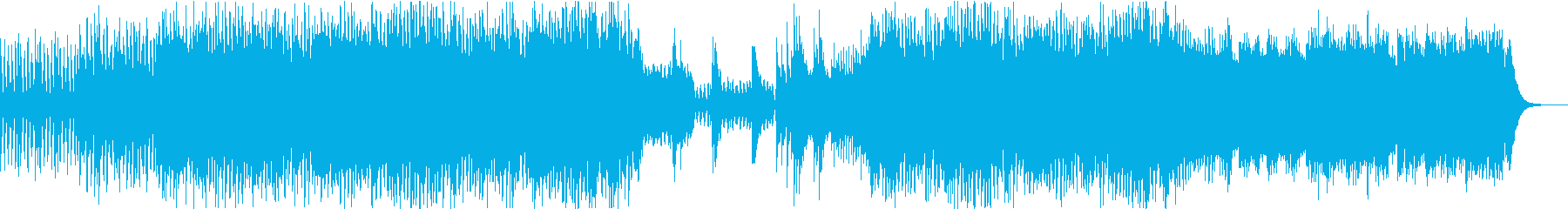 緊迫感のある尺八と琴の和風バトルBGMの再生済みの波形