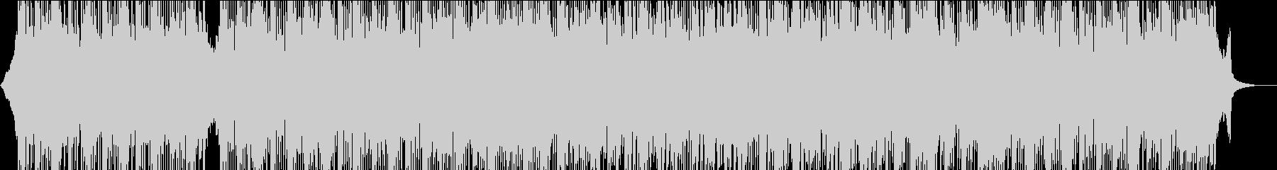 コーポレートプロモーション向けポップスの未再生の波形