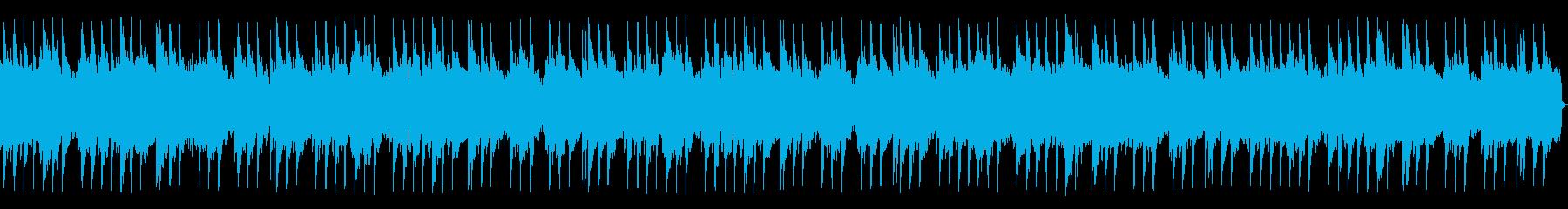 マンドリンとピアノを使用した心温ま...の再生済みの波形