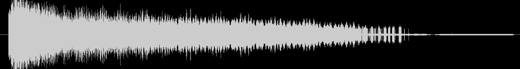 ディストーションスイープバージョン2の未再生の波形